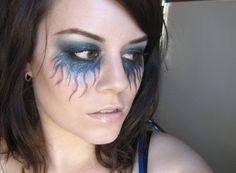 Cool make up for a photo shoot - Jellyfish Eyes