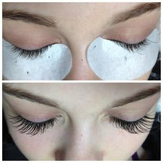 Perfect Patterning - Eyelash Extensions Application by Certified Dreamlash Artist Robin Reppnack