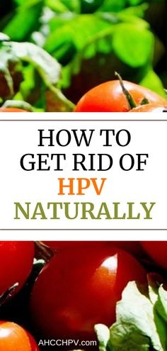 how to fight hpv virus naturally