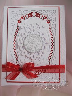 Flowers, Ribbons and Pearls: Spellbinders Majestic Labels 25