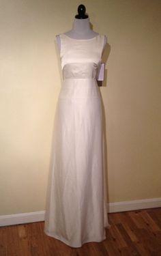 J Crew Percy Gown 8 Wedding Dress Formal 650 NWT Ivory