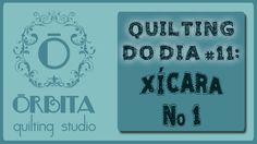 Quilting do dia # 11: Xícara Nº 1 (Quilting design 11: coffee) - OQS