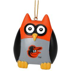 "Baltimore Orioles 2.5"" Owl Ornament - $7.99"
