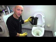 Afkalkning af toilet - YouTube