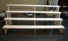 foam core shelves
