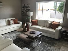 This contemporary bugalow is staged to sell!