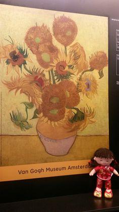 Van Gogh Museum, Treasure Boxes, Soft Dolls, Fun, Character, Painting, Fin Fun, Painting Art, Paintings