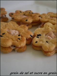 biscuit à la crème de saumon
