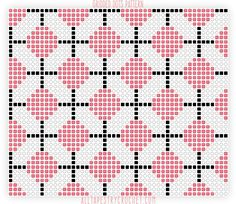 Take something classically casual like a polka dot pattern andput it on a grid and you get the perfect blend of girly and modern. (AKA, the Gridded Dots pattern.) This patterns uses the Modified …