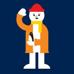 Google Santa Tracker Animations by Markus Magnusson, via Behance