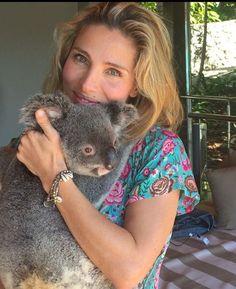 'I've always wanted to hug a koala': Actress Elsa Pataky has been exploring Hamilton Island, Queensland as she celebrates her birthday in Australia with husband Chris Hemsworth Elsa Pataky, Chris Hemsworth Wife, Loki Thor, Cuddling, Fur Babies, Baby Animals, Cute Pictures, Hug, Photo And Video