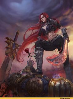 League of Legends,Лига Легенд,фэндомы,Katarina,Garen