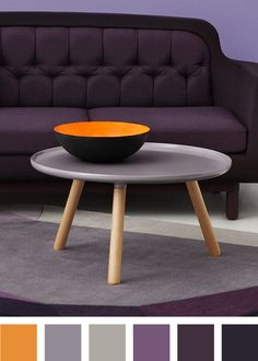 Style with colors - Warm Grey Tablo table