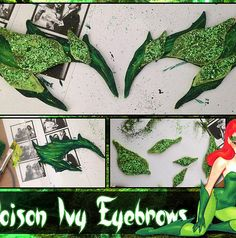 faith filled femme | DIY: How to Make Poison Ivy Eyebrows