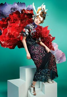 mikapoka: flower-patterned spring to come  Lane Crawford - Hong Kong's department  store group - unveiled the company's floral-inspired  s/s 14 campaign - called 'Botanica' - featuring an  exclusive collaboration between five-star fashion and  visual pros.