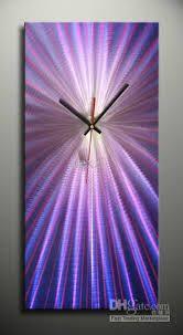 █metal Wall Sculpture Clock█abstract Art█ Home Decor█ Metal Wall Sculpture, Wall Sculptures, Sculpture Art, Purple Art, Shades Of Purple, Metal Artwork, Metal Wall Art, Sheet Metal Art, Welding Ideas