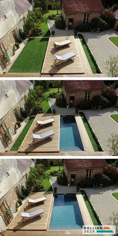 Tips on How to Choose the Best Swimming Pool Contractors Aro.- Tips on How to Choose the Best Swimming Pool Contractors Around You small space swimming pool ideas can maximize your backyard - Small Swimming Pools, Backyard Pool Designs, Small Backyard Landscaping, Small Pools, Swimming Pools Backyard, Pool Spa, Swimming Pool Designs, Backyard Patio, Landscaping Ideas