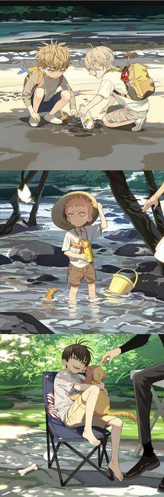 19 Days Manga Español, Days Anime, Otaku Anime, Anime Guys, Manga Anime, 19 Days Characters, Manga Yuri, Manga Collection, Anime Poses Reference