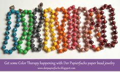 Der Papierfuchs Jewelry: A bit of Color Therapy anyone?
