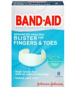 Advanced Healing BlisterFingers and ToesAll one Size 8's
