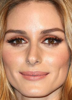 Close-up of Olivia Palermo at the 2015 Audemars Piguet boutique opening. http://beautyeditor.ca/2015/12/15/best-beauty-looks-emily-ratajkowski