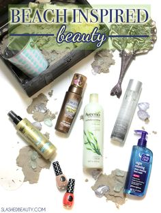 Beach Inspired Beauty | Slashed Beauty