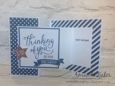 The Craft Spa - Stampin' Up! UK independent demonstrator : Time of Year Double Square Pop Up Z Fold Card... aka Z Fold Joy Fold Card...