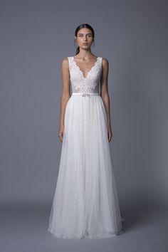 Lihi Hod Bridal Week Fall 2017 - http://www.stylemepretty.com/2016/10/12/lihi-hod-bridal-week-fall-2017-wedding-dresses/