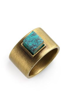 kelly wearstler turq ring