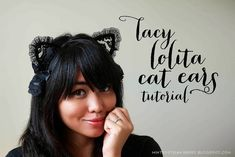 DIY Lacy Lolita Cat Ears @ mintedstrawberry.blogspot.com