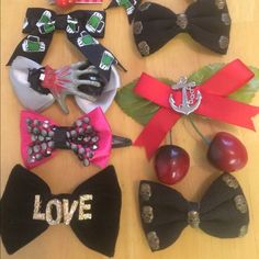 Bow hair clip set 10 total pinup rockabilly Bow hair clip set 10 total pinup rockabilly . Get all 10 or ask me for individual pricing or a smaller set Forever 21 Accessories Hair Accessories