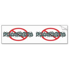 No Fracking Decals Bumper Stickers