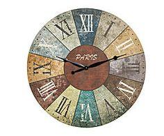 Reloj de Pared en Madera