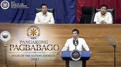 WATCH: PRESIDENT DUTERTE SPEECH ON HIS SECOND STATE OF THE NATION ADDRES...