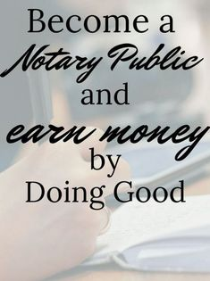 I never imagine that I can make money if I become a notary public! Well, this one is really helpful if you would love to become a NOTARY PUBLIC and earn more money! Earn More Money, Earn Money From Home, Way To Make Money, Notary Classes, Become A Notary, Notary Service, Mobile Notary, Notary Public, Job Interview Tips