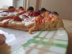 Pizza come in pizzeria con licoli