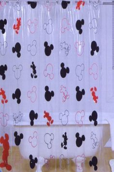 DISNEY MICKEY MOUSE VINYL SHOWER CURTAIN KIDS SHOWER CURTAINS by Disney, http://www.amazon.com/dp/B004LYFPRY/ref=cm_sw_r_pi_dp_AR6yqb1XYDBZZ