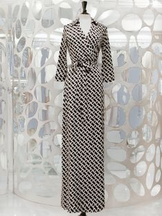 DVF Printed Wrap Dress