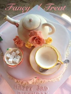 Victorian tea party  Cake by FancyATreat
