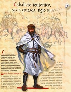 [WB][B] Crusader - Way to expiation Ancient History, Art History, Friedrich Ii, Crusader Knight, High Middle Ages, Armadura Medieval, Templer, Medieval Knight, Medieval Times