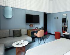 Hotel Room Mate Giulia, Milano • Interiors: Patricia Urquiola