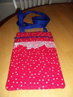Cotton hipster purse