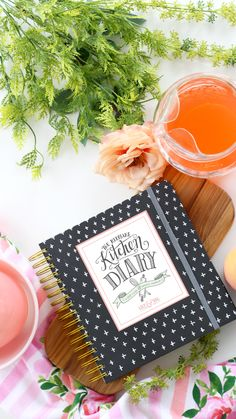 Keepsake Kitchen Diary - the cutest recipe keeper and journal for your summer recipes
