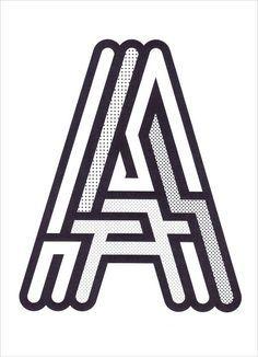 Design Inspiration, Graphic Design, Design Lettering, Typography Design, Design Type, Design Typography, Design Maze, Maze Logo Design, Letter Design