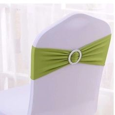 100PCS Stretch Wedding Chair Bands With Buckle Slider Sashes Bow Decorations 10 Colors (Grass Green) - http://partysuppliesanddecorations.com/100pcs-stretch-wedding-chair-bands-with-buckle-slider-sashes-bow-decorations-10-colors-grass-green.html