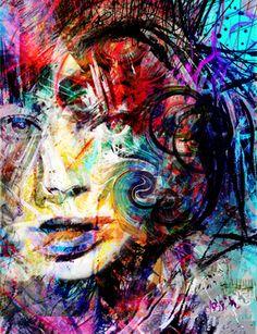 """Saatchi Online Artist yossi kotler; Mixed Media, """"layers of trust"""" #art"""