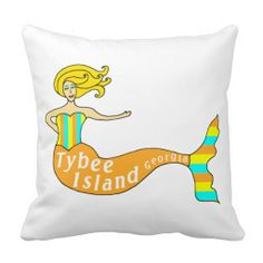 Tybee Island, Georgia Mermaid Throw Pillow in each seller & make purchase online for cheap. Choose the best price and best promotion as you thing Secure Checkout you can trust Buy bestHow to          Tybee Island, Georgia Mermaid Throw Pillow Review on the This website by click the b...