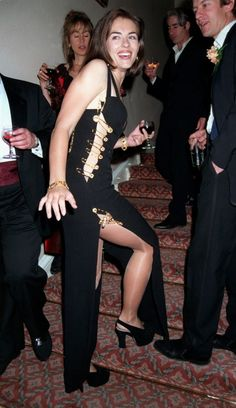 Elizabeth Hurley, Elsa Schiaparelli, Catherine Deneuve, Gianni Versace, Liz Hurley Dress, Hugh Grant Girlfriend, Celebrity Outfits, Celebrity Style, Celebrity News