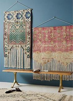 12 Inspiring Ways To Creatively Display Your Textile Collection – Lamour Artisans Boho Decor, Art Decor, Anthropologie, Leather Wall, Weaving Textiles, Weaving Art, Chill, Art Textile, Eclectic Decor