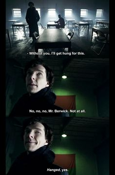 Everyone saw it coming, but it was still funny...Sherlock doesn't like poor grammar.